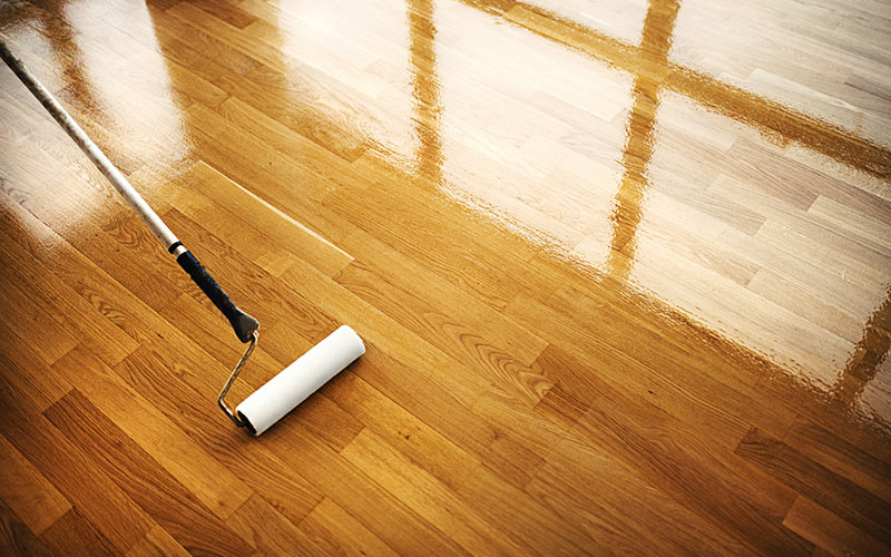 If you're protecting new wood floors or refinishing floors, the task starts at The Hardwood Centre.