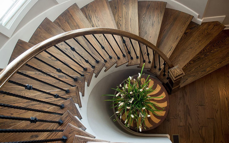 Our wood stair parts are manufactured with the best furniture grade hardwoods.