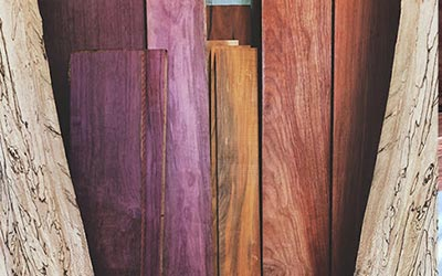The Hardwood Centre has a wide selection of Exotic Lumber products
