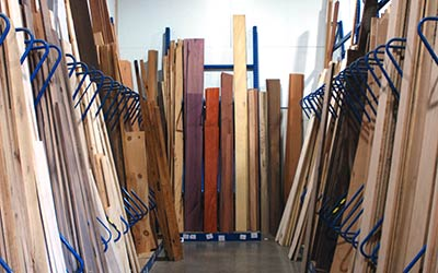 The Hardwood Centre has a wide selection of Domestic Lumber products